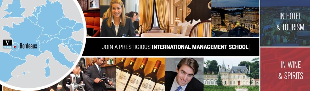 VATEL Bordeaux - International Business School - Hotel, Tourism, Wine & Spirits Management