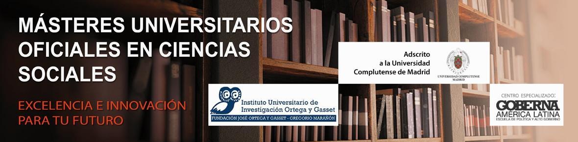Máster Universitario Oficial en Gobierno y Administración Pública